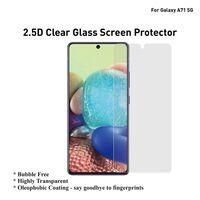 Lot de 2 protections d'écran en verre trempé pour Samsung Galaxy A71 5