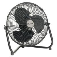 Ventilateur industriel noir 35 cm 55 W Bestron DFA30