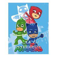 PJ masks Pyjamasques plaid polaire - 100% polyester - 100x140 cm -