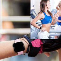 Bracelet Fitbit Versa caoutchouc - rose - S