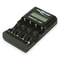 Ansmann Chargeur de piles Powerline 4 Light Noir 1001-0011