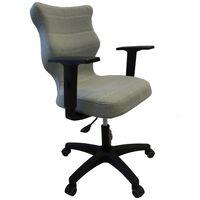 Entelo Chaise de bureau ergonomique UNI Menthe BA-C-6-B-C-DC20-B