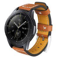 Bracelet pour Samsung Gear S3 Classic / Frontier - cuir - marron