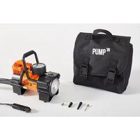 Pump'in One Mini-compresseur Avec Lampe Et Manomètre Prise 12v 8 Bars