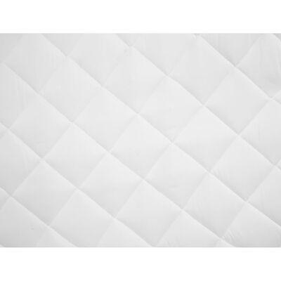vidaXL Couvre-matelas matelassé Blanc 160x200 cm Lourd
