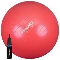 Avento Ballon de fitness/d'exercice avec pompe Diamètre 65 cm Rose