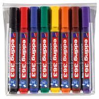 edding Marqueurs à tableau blanc 8 pcs Multicolore 363