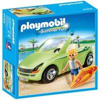 PLAYMOBIL - Playmobil - 6069 - Surfeur et voiture dcapotable