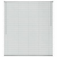 vidaXL Store Aluminium 80 x 130 cm Argenté