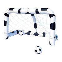 Bestway Ensemble de cage de but de football 213x117x125 cm