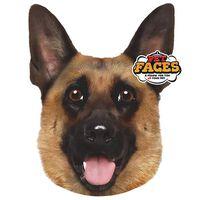Pet Faces Oreiller Visage d'animal de compagnie Berger allemand