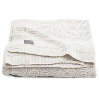 Jollein Couverture River Knit 100x150 cm Blanc crème