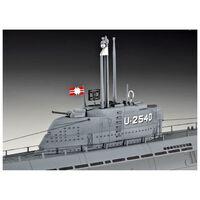 Maquette sous-marin : U-Boot Type XXI U 2540 & Interieur