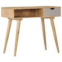vidaXL Table console 89x44x76 cm Bois de manguier massif