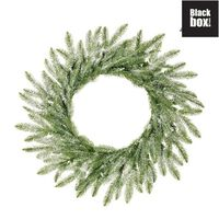 Black Box Trees - Brewer couronne frosted, vert -  d60cm