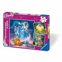 Ravensburger Puzzle Disney Princesse 3 x 49 Pièces