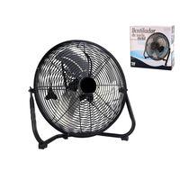 Ventilateur De Sol Métal 25cm -50w - Ventilateur De Sol Industriel -