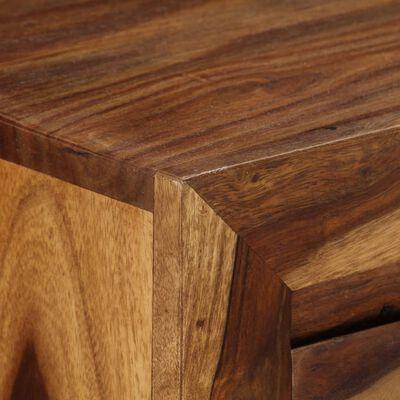 vidaXL Meuble à tiroirs Bois massif de Sesham 160 x 40 x 80 cm,