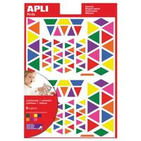 Gommettes Triangles x 720 - APLI AGIPA