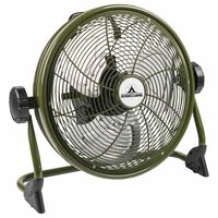 Bestron Ventilateur de sol d'extérieur rechargeable AOD12ACCU Vert
