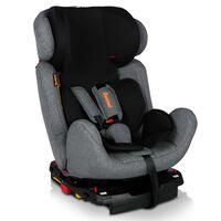 Baninni Siège d'auto pour bébés Felice Fix Gris et noir