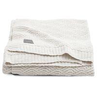 Jollein Couverture River Knit 75x100 cm Blanc crème