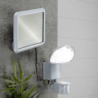 HI Lampe de jardin à capteur de mouvement solaire à LED Plastique