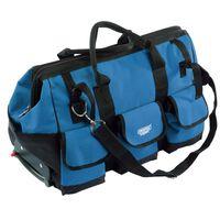 Draper Tools Sac à outils portable 60x30x35 cm Bleu et noir 58 L