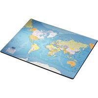 Esselte Sous-main Europost Carte du monde 40x53 cm