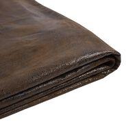 Revêtement marron pour cadre de lit 160 x 200 cm FITOU