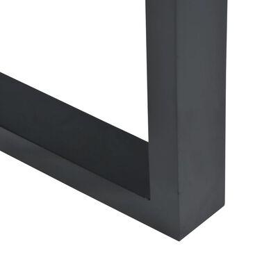 vidaXL Table console Teck 100 x 35 x 75 cm