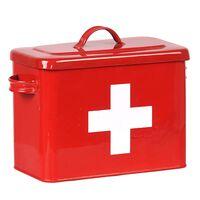 LABEL51 Trousse de premiers secours 30x14x21 cm Rouge