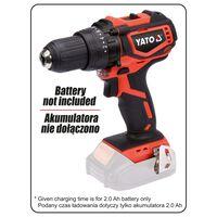 YATO Perceuse sans balais avec batterie 18V 42Nm