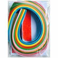 Papier étoile bandes Multicolor