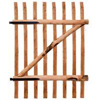 vidaXL Portillon de clôture Bois de noisetier imprégné 100 x 150 cm