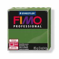 Pâte Fimo 85 g Professional Vert olive 8004.57 - Fimo