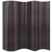 vidaXL Cloison de séparation Bambou Gris 250 x 165 cm