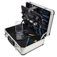 Scheppach Kit d'outils 101 pcs TB150 avec mallette en aluminium