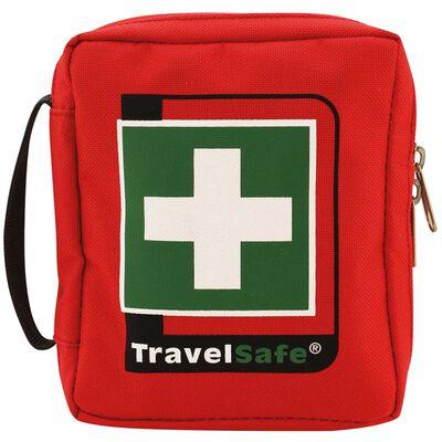 Travelsafe Trousse de premiers soins 23 pcs Globe Basic Rouge