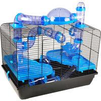Cage pour hamster aldo 58x38x55cm