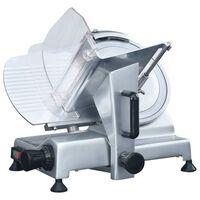 vidaXL Trancheur à viande électrique professionnel 300 mm