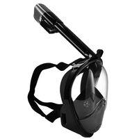 SportX Masque de tuba complet Noir Taille L/XL 2000017