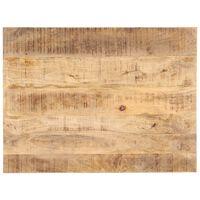 vidaXL Dessus de table Bois de manguier solide 25-27 mm 70x60 cm