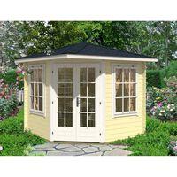 Alpholz Maison de jardin 5 coins modèle sunny-c