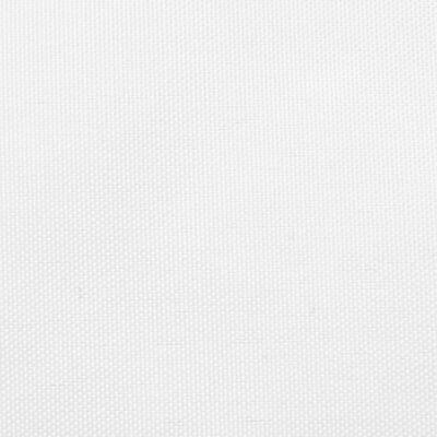 vidaXL Voile de parasol Tissu Oxford trapèze 4/5x3 m Blanc