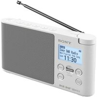 Radio Portable Numérique Blanc - Xdrs41dbp Blanc