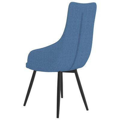 vidaXL Chaise de canapé Bleu Tissu