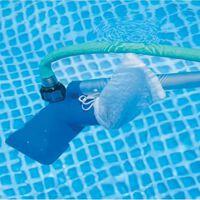 Kit d'entretien de piscines épuisette + balai Intex