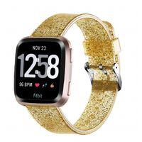 Bracelet Fitbit Versa - Or pailleté