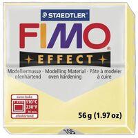 Pâte Fimo 57 g Effect Pastel Vanille 8020.105 - Fimo